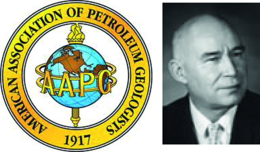 Left: the mighty AAPG. Right: the mighty Allan P. Bennison.