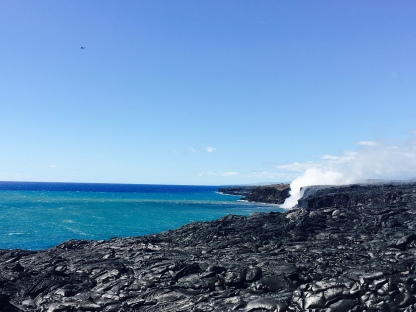 Even though I didn' directly see the lava pipe on Big Island, how can I complain when the overall view was like this.