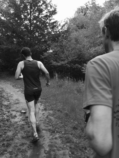 Like I said. I run. Here with John and Matt, trail running in the Ozarks, Arkansas